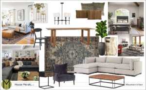 House Meraki design services concept design package mood board